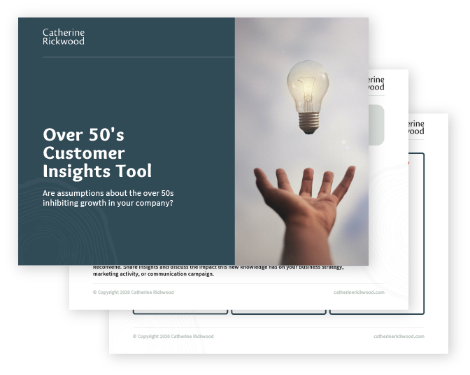 Over 50's Customer Insights Tool