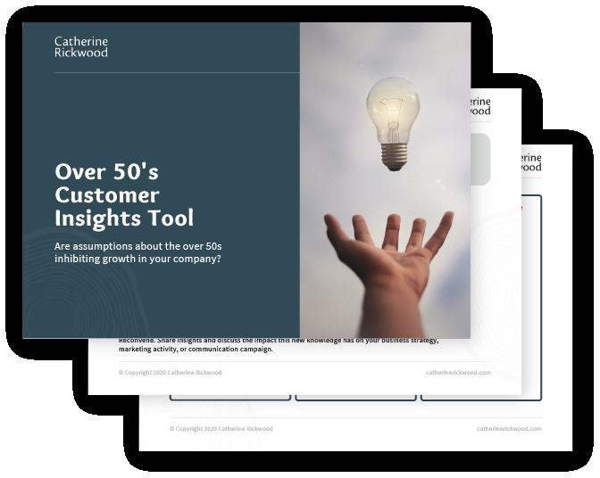 Over 50's Customer Insights Tool